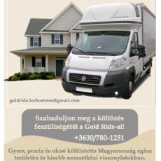 Gold Ride Költöztetés