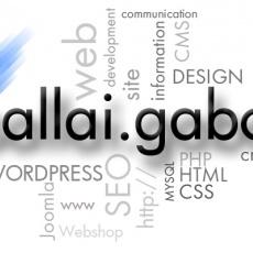 Sallaigabor.hu - weboldal-készítés, számítógép-javítás