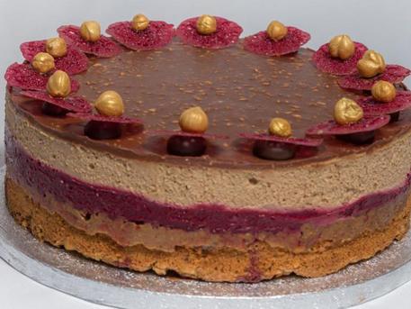 A Balatoni Habos Mogyorós az év tortája (fotó: sutichef.hu)